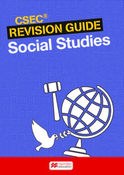 social studies csec study guide These study guides have been developed exclusively with the caribbean examinations council (cxc®) to be used as an additional resource by candidates who are following the caribbean advanced.