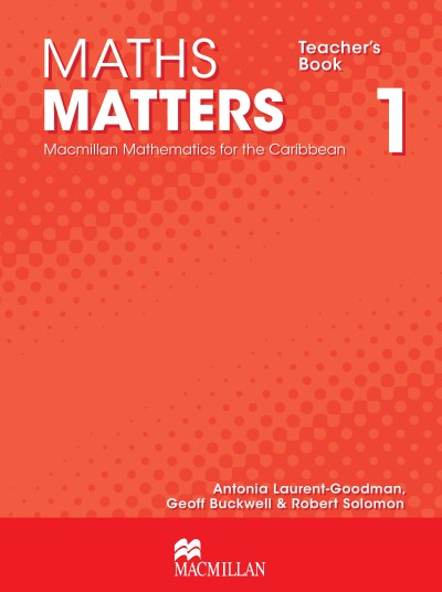 Maths Matters Teacher's Book 1
