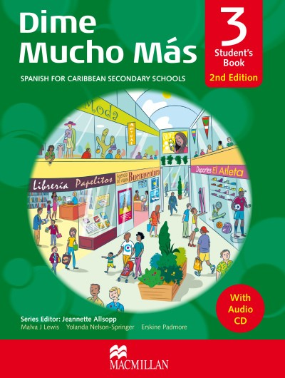 Dime 2nd Edition: Student's Book 3: Dime Mucho Más